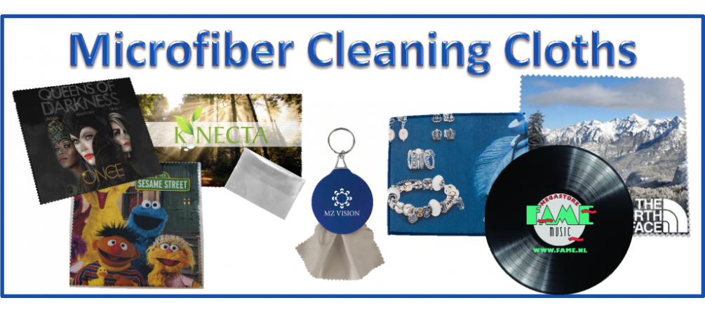 Custom Microfiber Cleaning Cloths