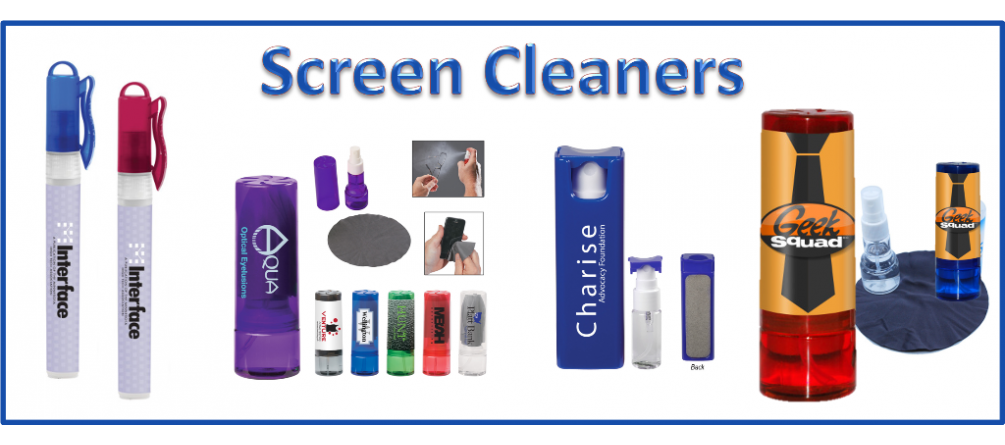 Personalized Screen Cleaners