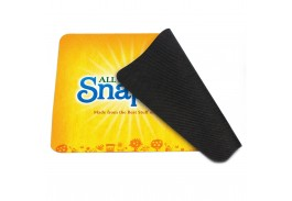 4-in-1 Rectangular Microfiber Mousepad Cleaning Cloth