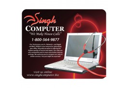 """Rectangle Mouse Pad -  8 3/8"""" W x 7 ¼"""" H"""