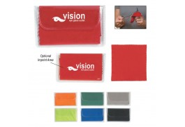 Value Microfiber Cloth In Printed Pouch