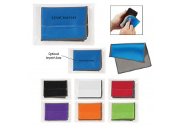 """Dual Microfiber Cleaning Cloth - 7 1/2"""" x 5 1/2"""""""